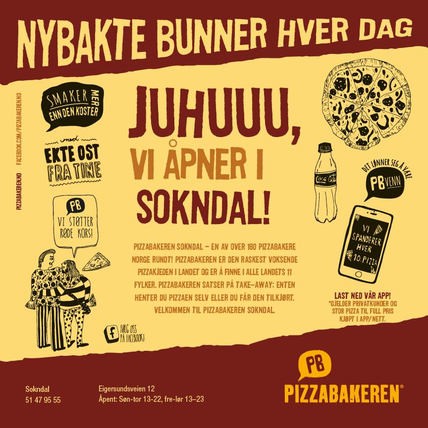 Pizzabakeren Sokndal