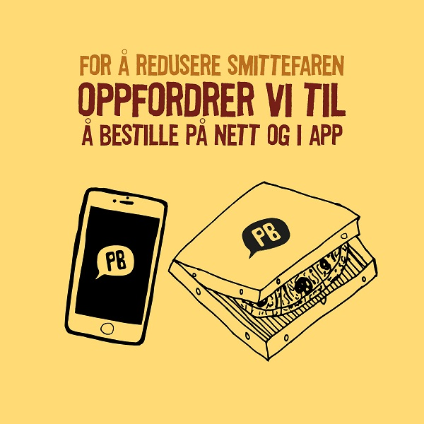 Bestill i app/nett