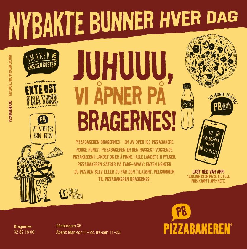 Pizzabakeren Bragernes