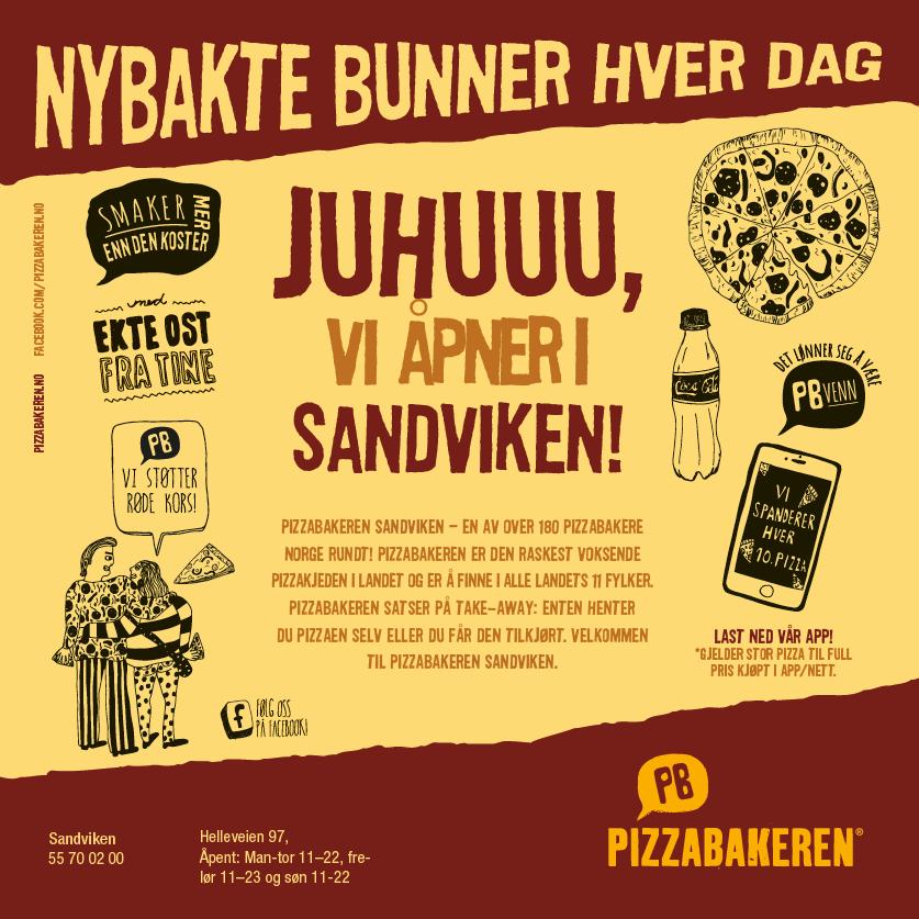 Pizzabakeren Sandviken